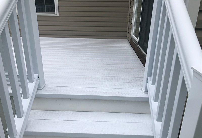 Deck Power Washing Mj Richardson Contracting